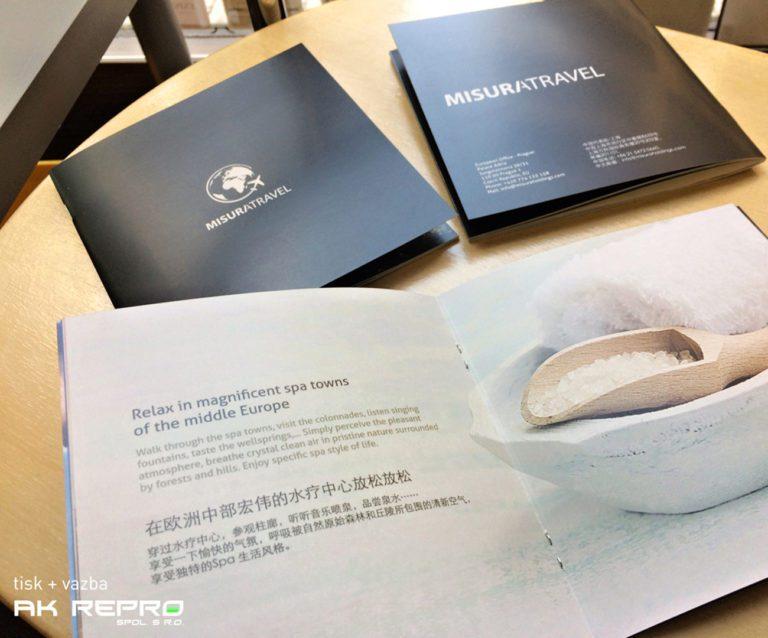 Brožura s vazbou V1