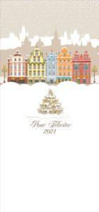 Novoroční přání - Barevné náměstí