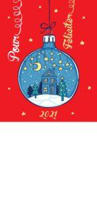 Novoroční přání - Ozdoba