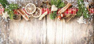 Novoroční přání - Zátiší z ozdob
