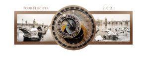 Novoroční přání - Pražský orloj