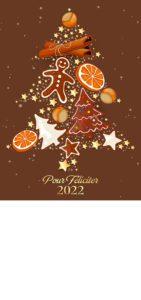 Novoroční přání - Perníkový strom