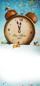 Novoroční přání - Budík