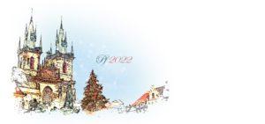 Novoroční přání - Staroměstské náměstí