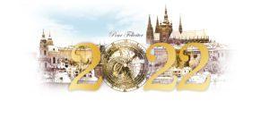 Novoroční přání - Zlatá Praha