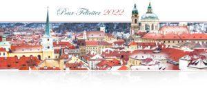 Novoroční přání - Barevná Praha