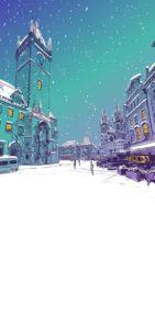 Novoroční přání - Vánoční orloj